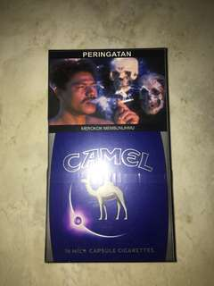 Rokok camel mild click