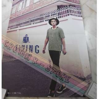 [CRAZY DEAL 90% OFF FROM ORIGINAL PRICE][READY STOCK]SS501 KIM HYUNJOONG KOREA OFFICIAL POSTER!!NEW! OFFICIAL ORIGINAL FROM KOREA (SELAED) (PRICE NOT INCLUDE POSTAGE) SHIP USING TUBE