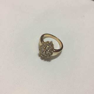 Gold Ring | Size 4.5 CM