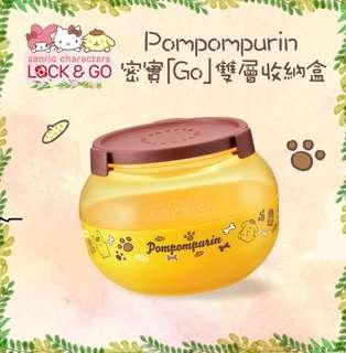 Sanrio Characters Lock & Go (Pompompurin)
