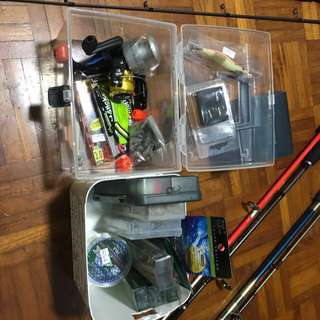 Fishing Rod SETS (NEGO AVAILABLE)