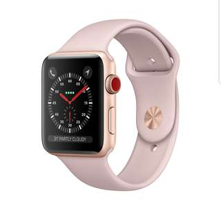 Apple Watch Rose Gold 3 series