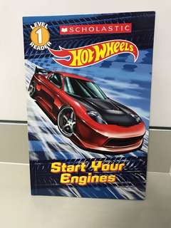 Hot Wheels Level 1 Reader - Start Your Engines