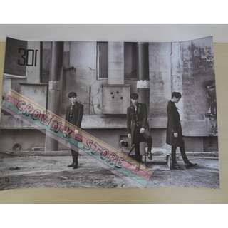 [CRAZY DEAL 90% OFF FROM ORIGINAL PRICE][READY STOCK]SS501 SS301 KOREA OFFICIAL POSTER!!NEW! OFFICIAL ORIGINAL FROM KOREA (SELAED) (PRICE NOT INCLUDE POSTAGE) SHIP USING TUBE