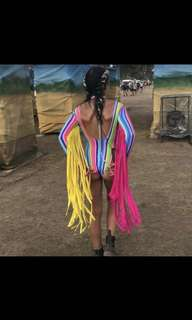 Day By Day The Label Rainbow Bodysuit