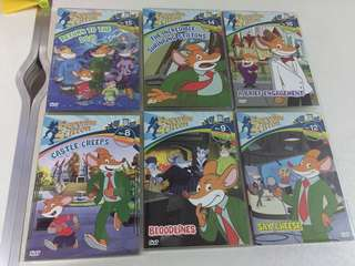 Geronimo Stilton DVD Set
