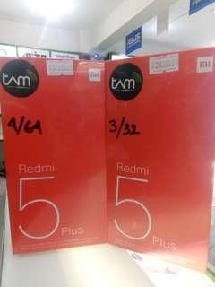 New Xiaomi Redmi 5 Plus Ram 4 Bisa Kredit Proses Cepat
