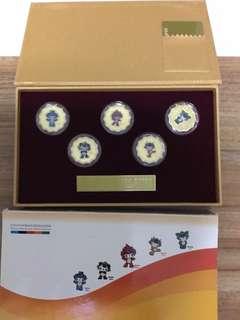 Beijing mascots coins