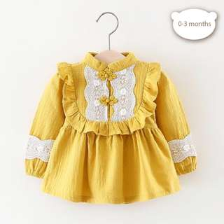 baby dress for 0-3 months
