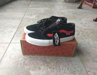 Vans MN TNT SG BLACK/RACING RED-Pro Skate
