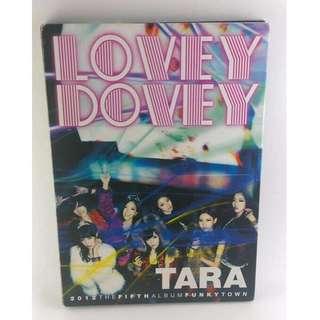 🚚 T-ara Lovey Dovey (2012 The Fifth Album Funky Town) [韓版]