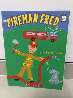 Fireman Freed Story Book