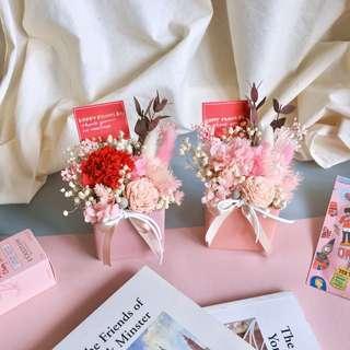 SUE HANDMADE💕母親節限定款💕不凋永生康乃馨盆花 母親節盆花預購中