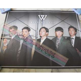 [CRAZY DEAL 90% OFF FROM ORIGINAL PRICE][READY STOCK]WINNER KOREA OFFICIAL POSTER!!NEW! OFFICIAL ORIGINAL FROM KOREA (SELAED) (PRICE NOT INCLUDE POSTAGE) SHIP USING TUBE
