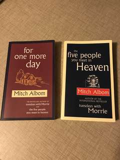 Mitch Albom - the five people you meet in heaven / for one more day