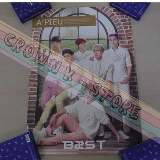 [CRAZY DEAL 90% OFF FROM ORIGINAL PRICE][READY STOCK]BEAST B2ST KOREA OFFICIAL POSTER!!NEW! OFFICIAL ORIGINAL FROM KOREA (SELAED) (PRICE NOT INCLUDE POSTAGE) SHIP USING TUBE