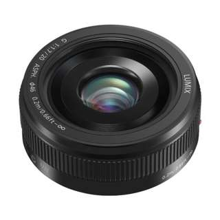 🚚 Panasonic 20mm f1.7 II (Black or Silver) LUMIX G ASPH. Lens *NEW*