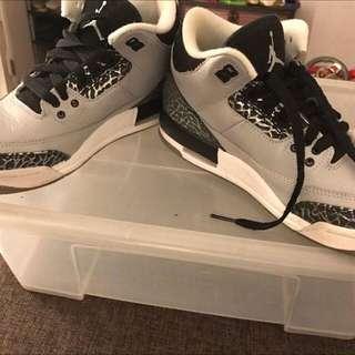 Jordan 3 wolf grey