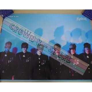 [CRAZY DEAL 90% OFF FROM ORIGINAL PRICE][READY STOCK]VIXX KOREA OFFICIAL POSTER!!NEW! OFFICIAL ORIGINAL FROM KOREA (SELAED) (PRICE NOT INCLUDE POSTAGE) SHIP USING TUBE