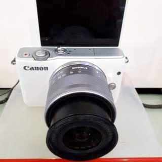 Kamera Canon Eos M10 Mirorless PROMO BUNGA 0%