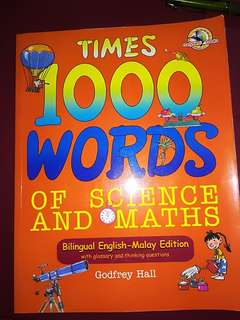 1000 words of Science and Maths