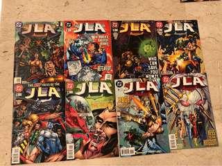 Grant Morrison's JLA - #1-7 & 9 (DC)