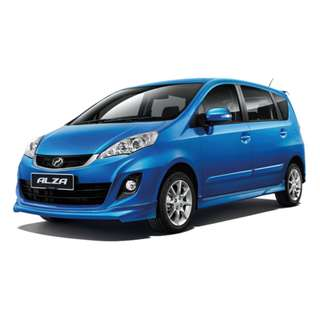 Perodua Alza Pre Raya Promo,Full loan,No license
