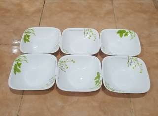 pyrex corelle European Herbs bowl 6