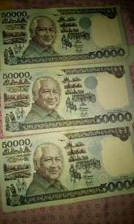 Uang 50.000 pak harto