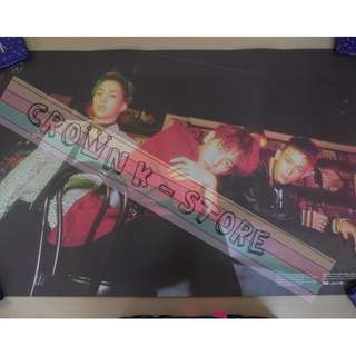 [CRAZY DEAL 90% OFF FROM ORIGINAL PRICE][READY STOCK]EXO CBX KOREA OFFICIAL POSTER!!NEW! OFFICIAL ORIGINAL FROM KOREA (SELAED) (PRICE NOT INCLUDE POSTAGE) SHIP USING TUBE