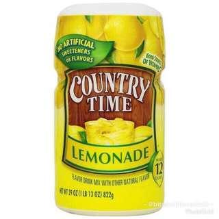 Country Time Lemonade 822g