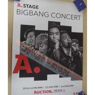 [CRAZY DEAL 90% OFF FROM ORIGINAL PRICE][READY STOCK]BIGBANG KOREA OFFICIAL POSTER!!NEW! OFFICIAL ORIGINAL FROM KOREA (SELAED) (PRICE NOT INCLUDE POSTAGE) SHIP USING TUBE