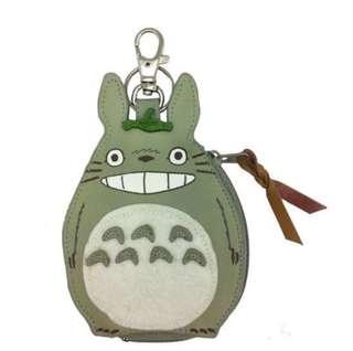 (現貨)拉鍊 匙扣型 碎紙包 宮崎駿 龍貓 Totoro 日本直送 全新品