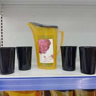 Teko set 1.8lt + 4 gelas