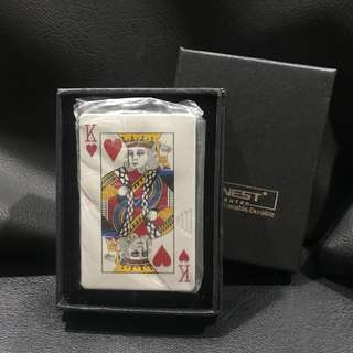 Poker card lighter (King)