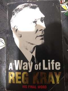 A Way of Life Reg Kray