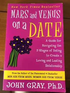Mars & Venus on a date - John gray (book)