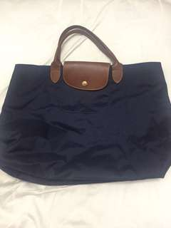 Longchamp short handle bag