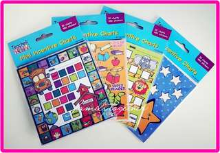 Mini Incentive Charts with Stickers