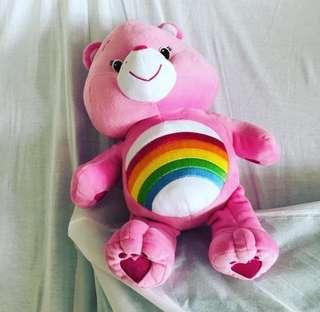 Pink care bear (medium size)
