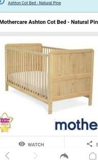 Mothercare Babycot (mattress not included)