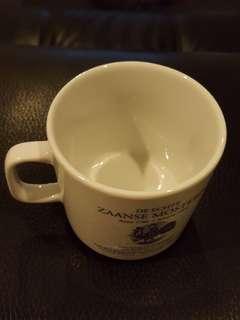 Vintage porcelain cup from the Netherlands