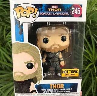 ☄️Hot Topic Exclusive Thor with Surtur head-Thor Ragnarok Funko Pop Bobblehead Avengers Infinity War