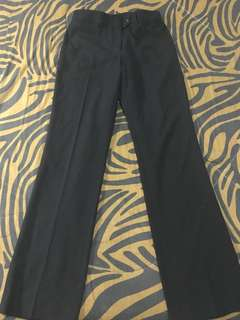 Biz Collection: Black Slacks; Size: M-L