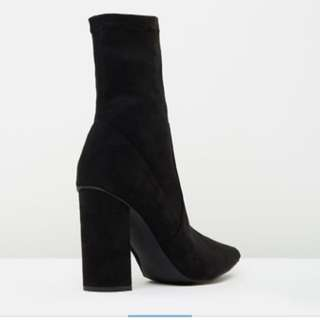 SPURR Lyra Sock Ankle Boots