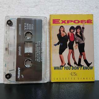 Cassette Single》Expose - What You Don't  Know