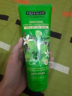 Freeman Green Tea Orange Blossom Pell Off Gel Mask