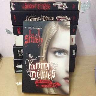 The Vampire Diaries Novel Series