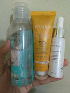 Wardah, take all 50rb