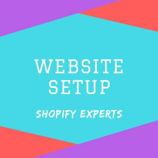 Website Design Service (Setup, Shopify & Mobile Site)